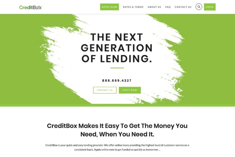 The New and Improved CreditBox Website
